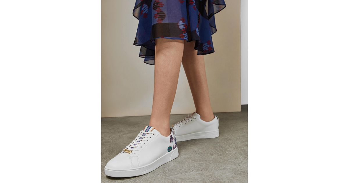ted baker white trainers
