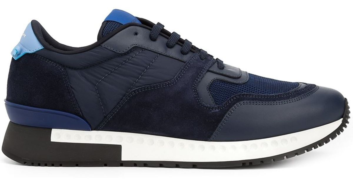 Givenchy Leather Runner Active Sneakers
