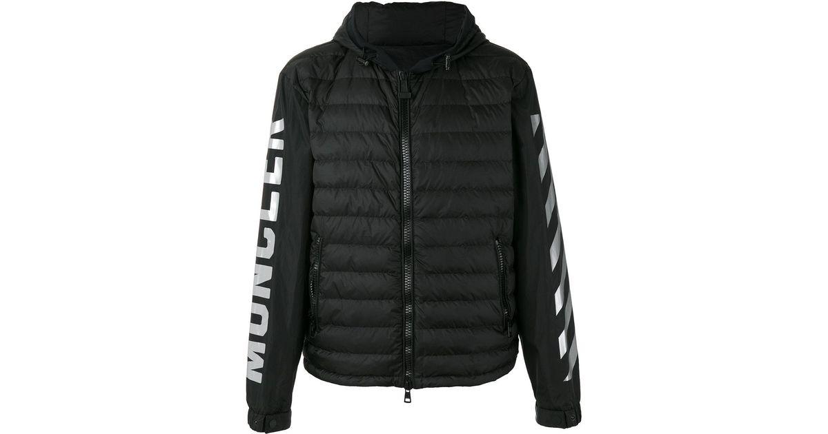 bd15ef56f423 Moncler Tablier Jacket in Black for Men - Lyst
