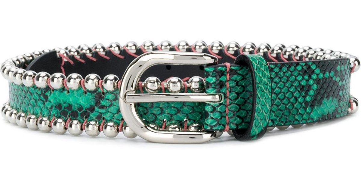 Kloan belt - Green Isabel Marant 3qOXaWPl2