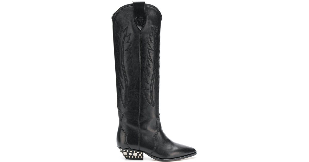 Isabel Marant Dinzi Leather Boots in