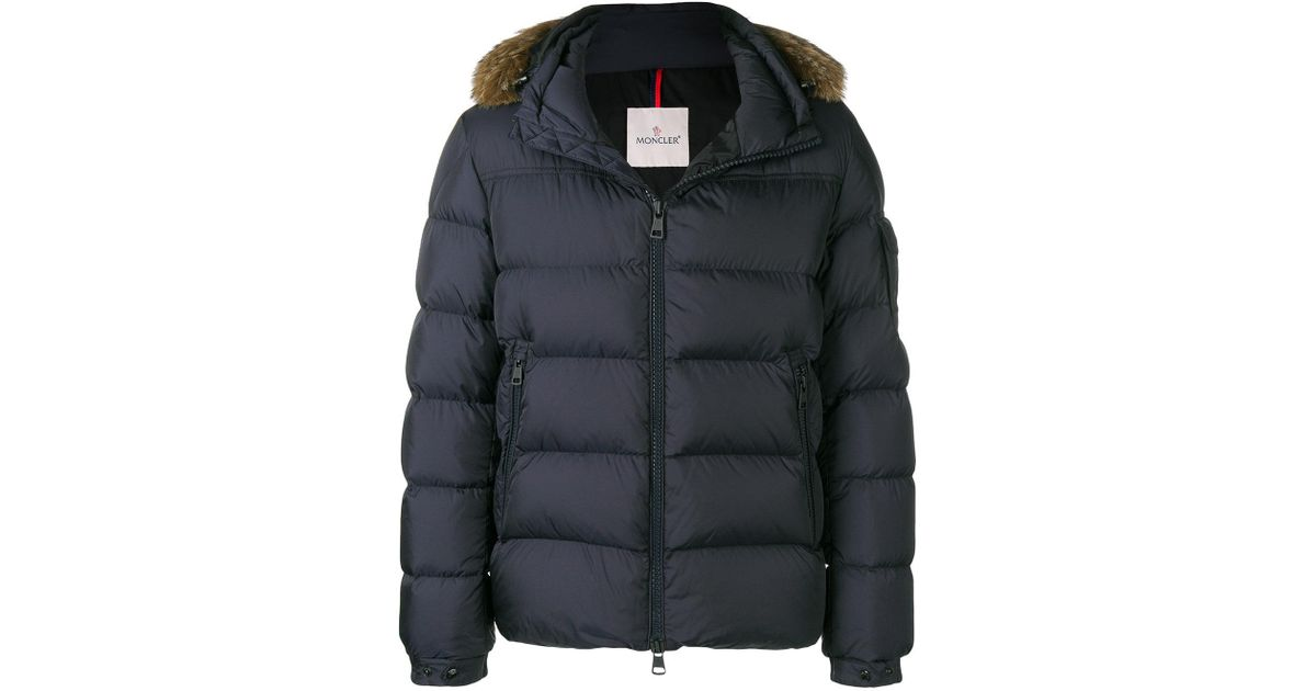 b1f61972e Moncler Blue Marque Winter Jacket for men