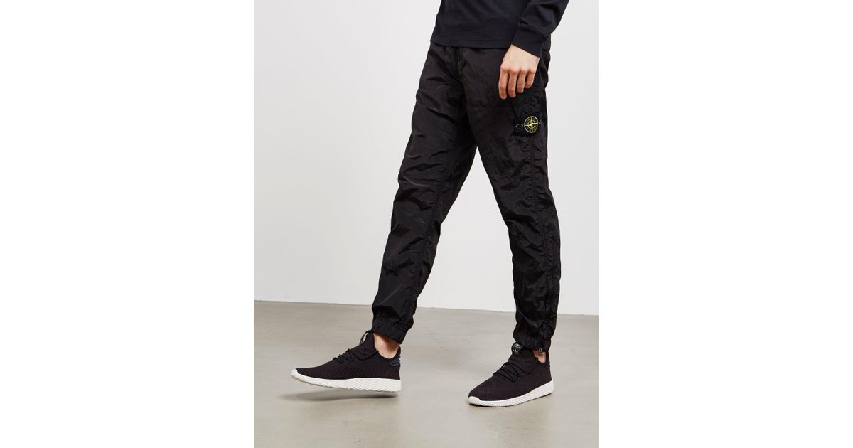 low price sale latest discount official shop Stone Island Nylon Metal Track Pants Black for men