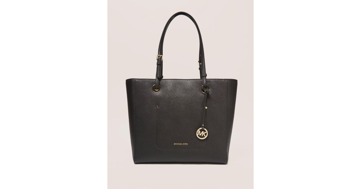 2d9b01907080e1 Michael Kors Walsh Large Tote in Black - Lyst