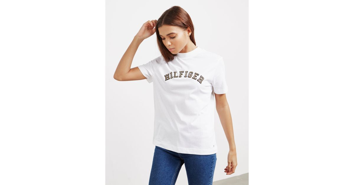 1a402260 Tommy Hilfiger Mimi Short Sleeve T-shirt White in White - Lyst