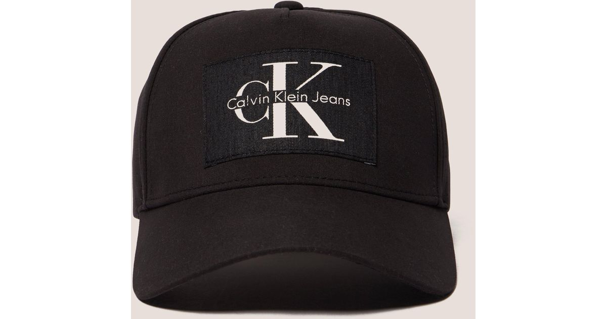 8a22e753 Calvin Klein Reissue Cap in Black for Men - Lyst