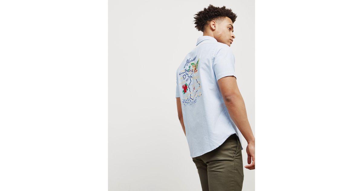 Lyst polo ralph lauren mens hawaii oxford short sleeve t shirt