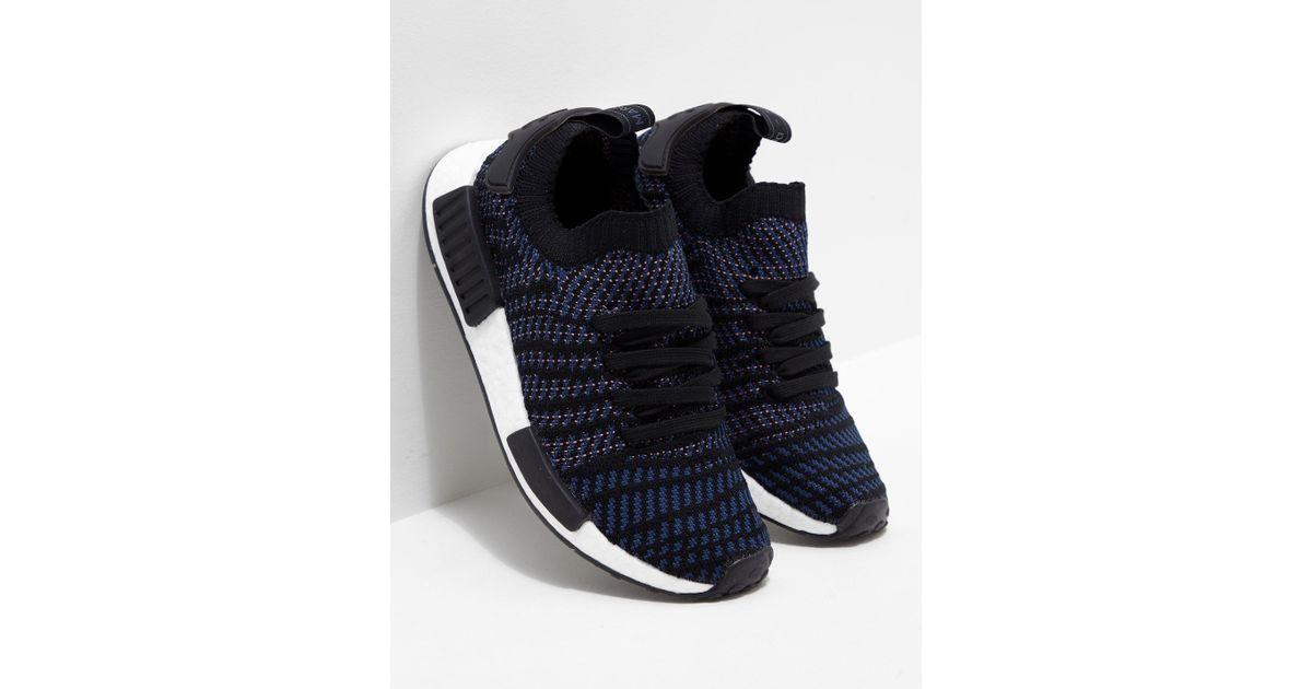 537d9b04e91c0 Lyst - adidas Originals Womens Nmd r1 Stlt Primeknit Women s Black in Black