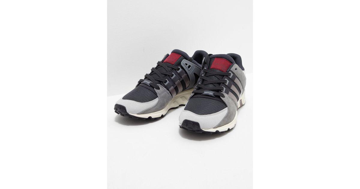 super cute 6f0ba ec210 Adidas Originals - Gray Mens Eqt Running Support Rf Carbon/grey for Men -  Lyst
