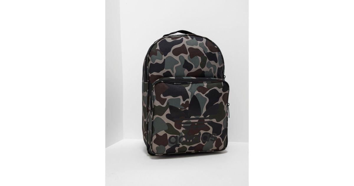 adidas Originals Mens Classic Backpack Green in Green for Men - Lyst 6feff086590d3