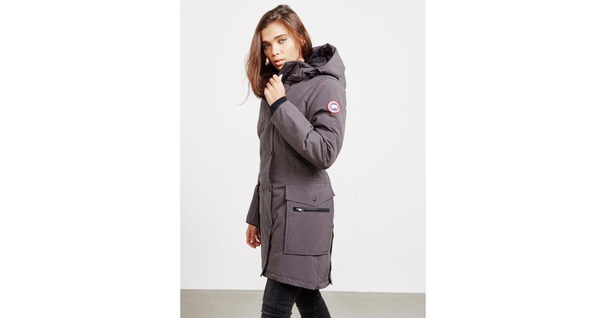 b339d533f68 Canada Goose Gray Kinley Parka Padded Jacket Grey