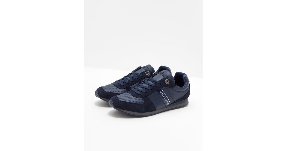 Running Fondo Linea Jeans For Versace Blue Men Ok80wPXn