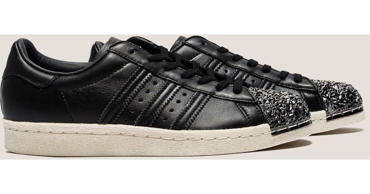 Adidas Originals Black Superstar 80s Metal