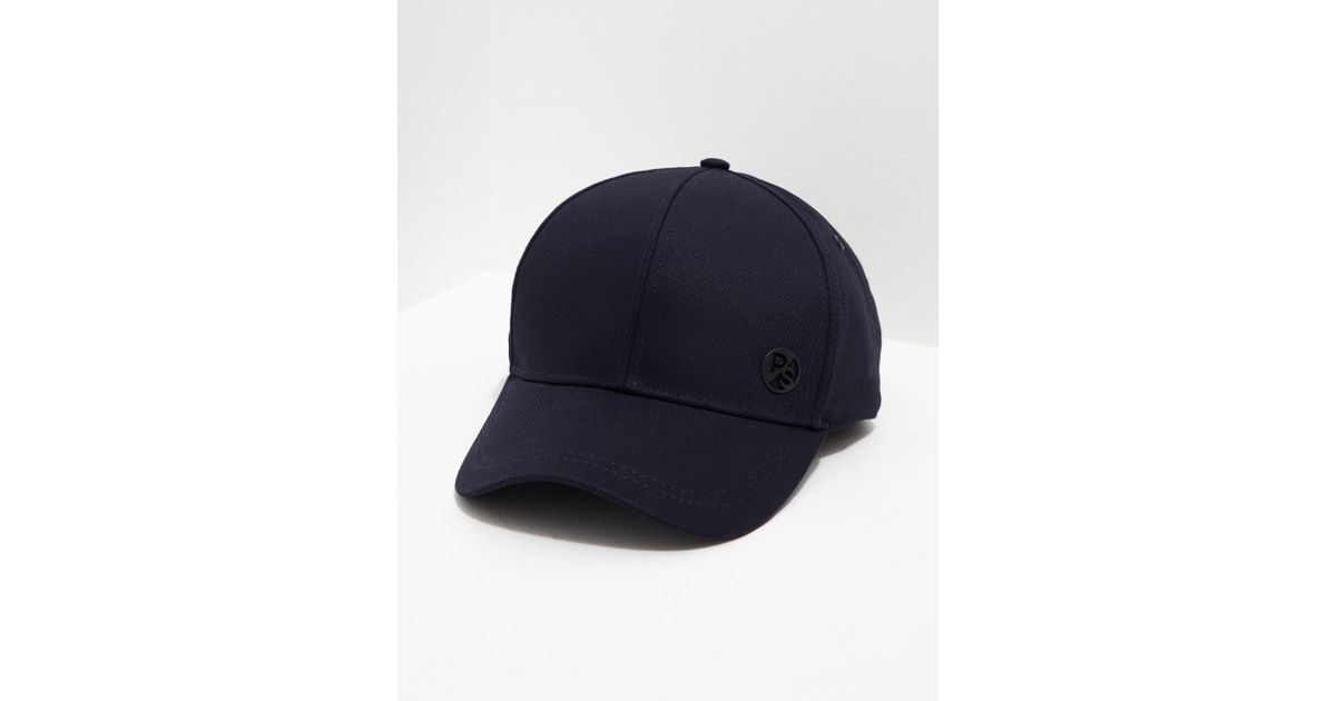 e4e0d378ddc PS by Paul Smith Mens Baseball Cap Navy Blue in Blue for Men - Lyst