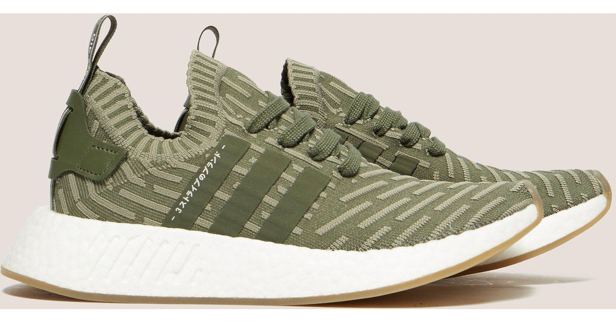 adce103caf08 Lyst - adidas Originals Womens Nmd R2 Women s Khaki in Natural