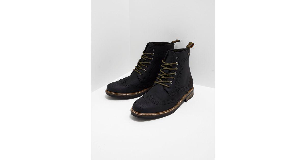 2f8bf6e40d5 Barbour Black Belsay Boots for men