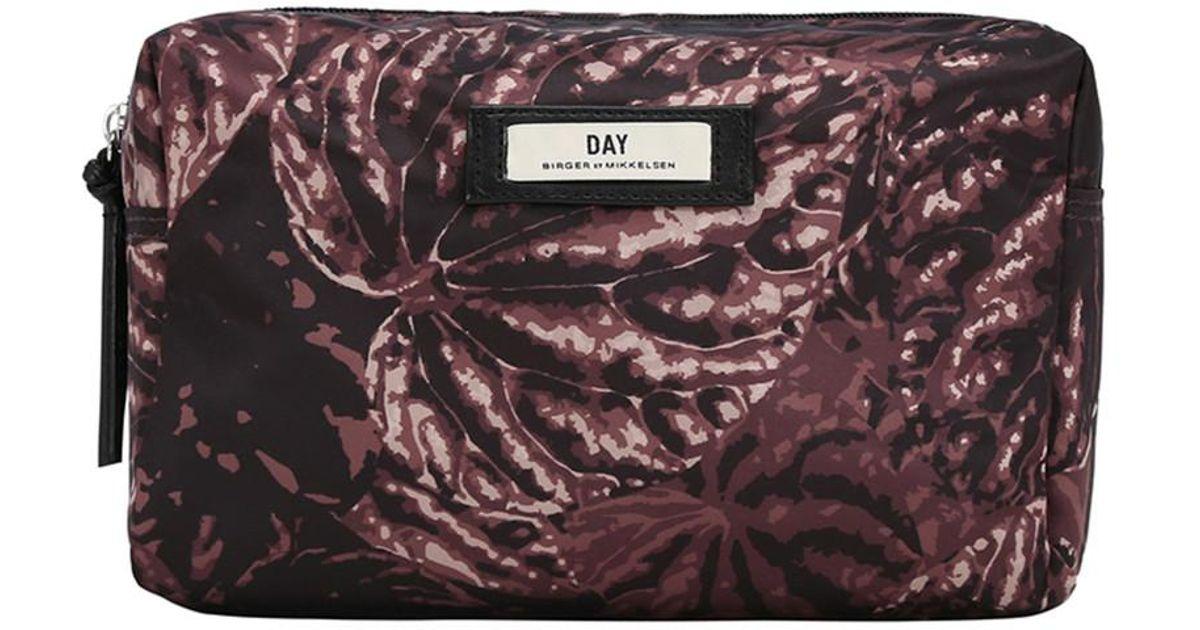 fc7efdc3f36d Lyst - Day Birger et Mikkelsen Day Gweneth P Foliole Beauty Bag