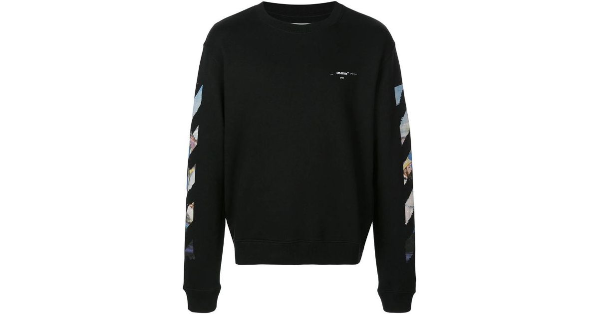 85b91de0324e Lyst - Off-White c o Virgil Abloh Arrows Sweatshirt in Black for Men - Save  27%