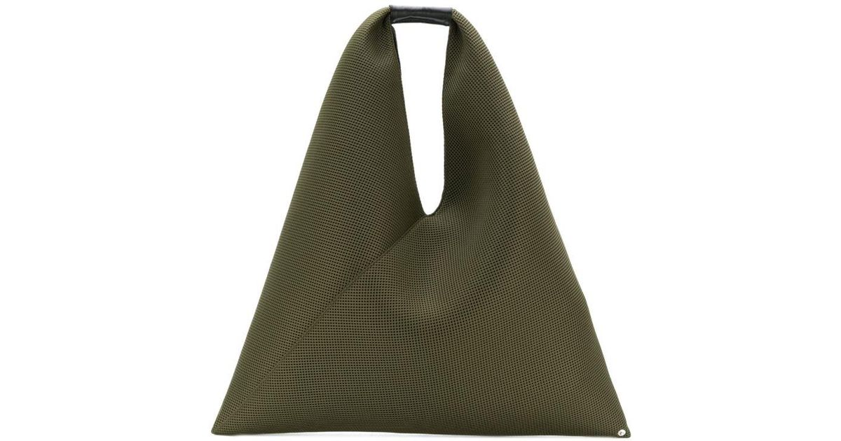 Lyst - Mm6 By Maison Martin Margiela Slouchy Tote Bag in Green 93861215edf