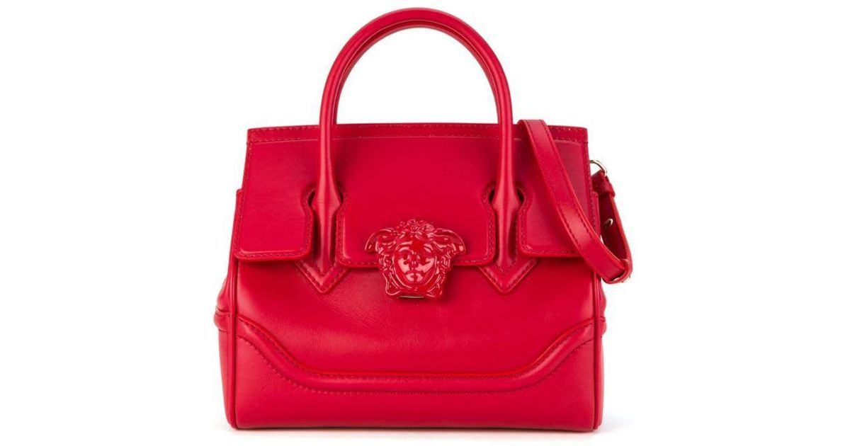 db35bf0b577d Versace - Palazzo Empire Shoulder Bag in Red - Lyst