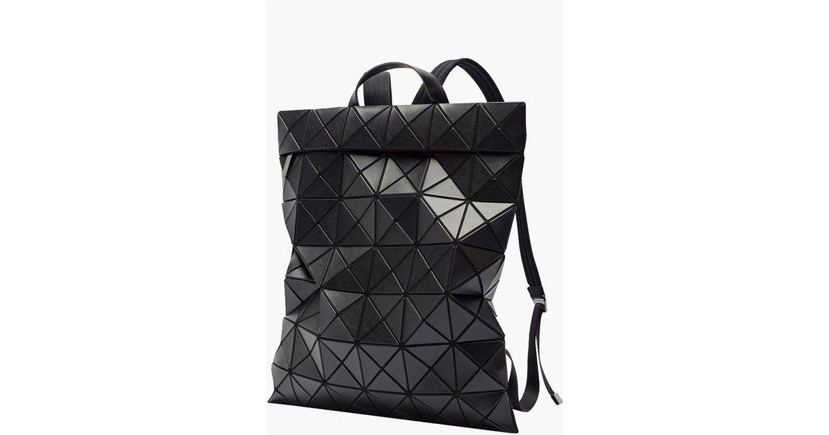 Lyst - Bao Bao Issey Miyake Flat Pack Backpack in Black 28bd8da7e200f