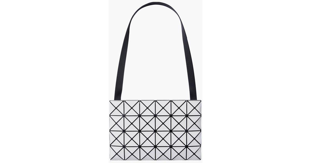 7b75138932 Lyst - Bao Bao Issey Miyake Lucent Shoulder Bag in White