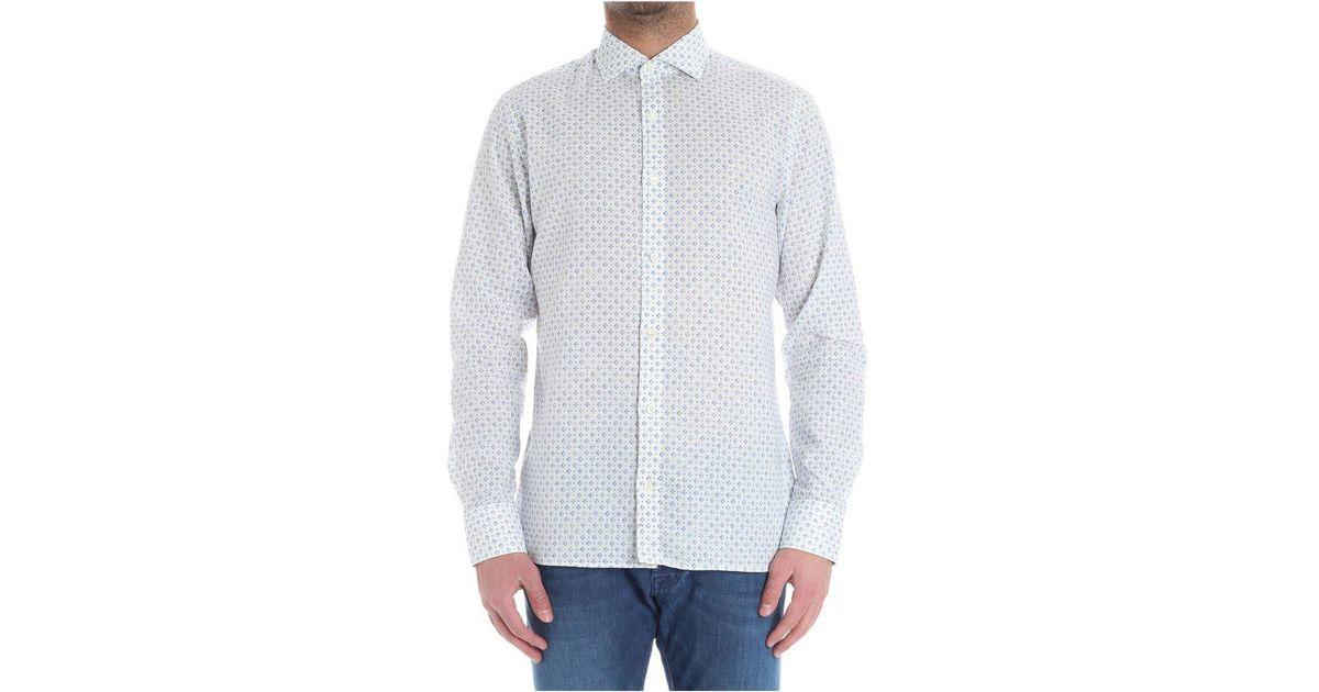 Cheap Prices Reliable Light blue and white striped stick shirt Ermenegildo Zegna Browse Online Buy Cheap Fake T9V0i0