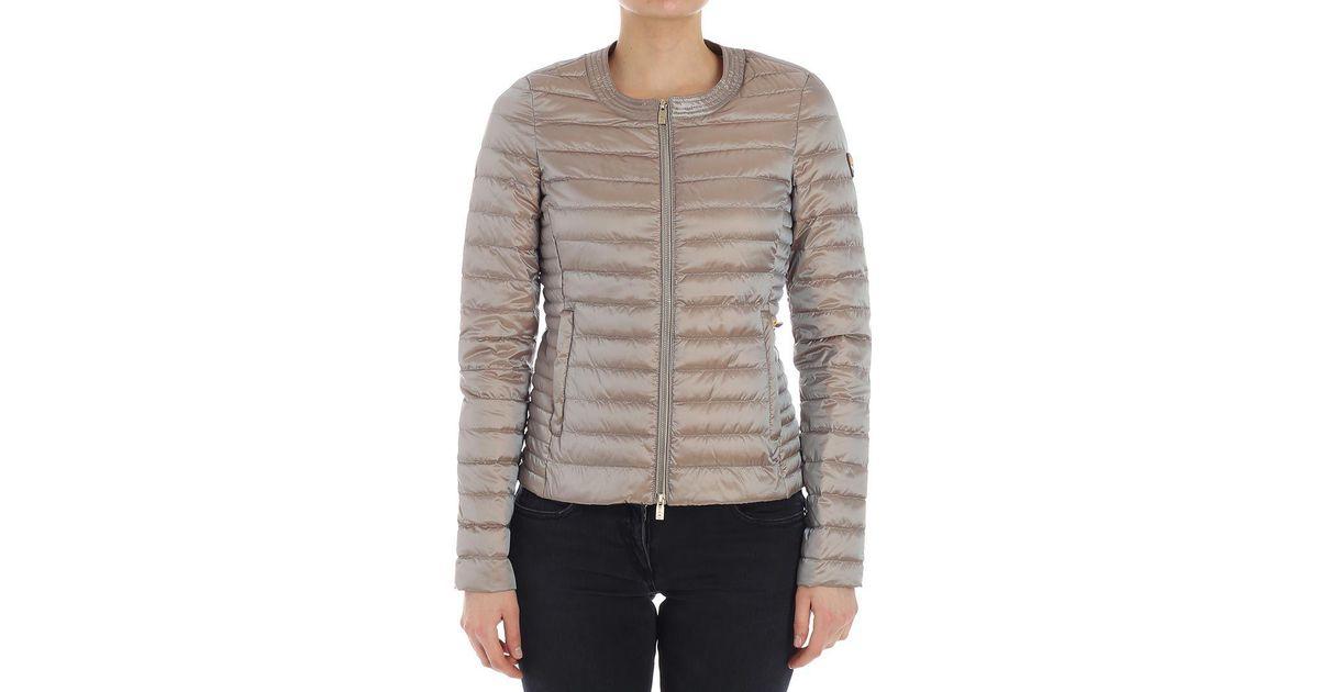 online retailer be9e0 9fe36 Ciesse Piumini Natural Iridescent Beige Grace Down Jacket