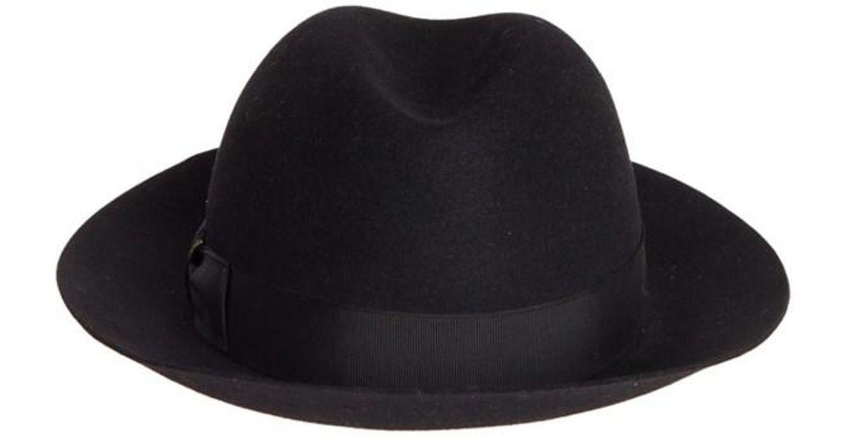Lyst - Borsalino Folar Matilde Hat in Black ede862c3a58a