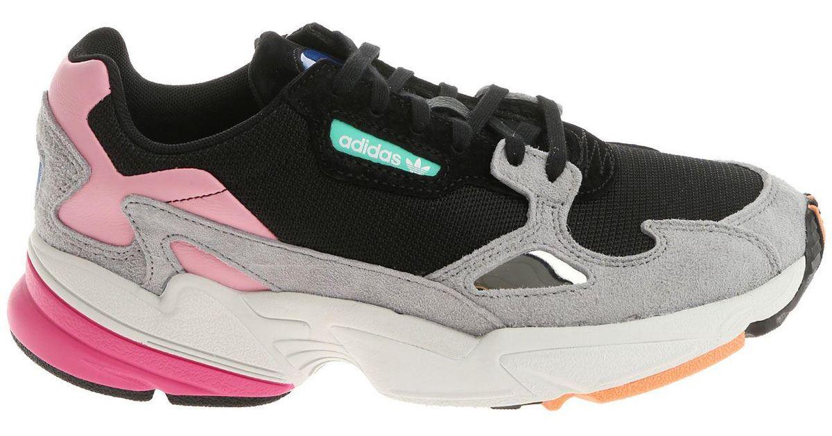 adidas Originals Suede Black Pink And