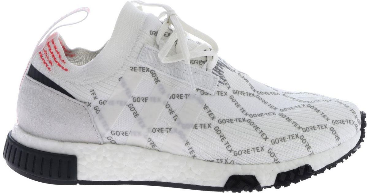 4ba8ccfcb9f3c adidas Originals Nmd Racer Gtx White Sneakers in White for Men - Lyst