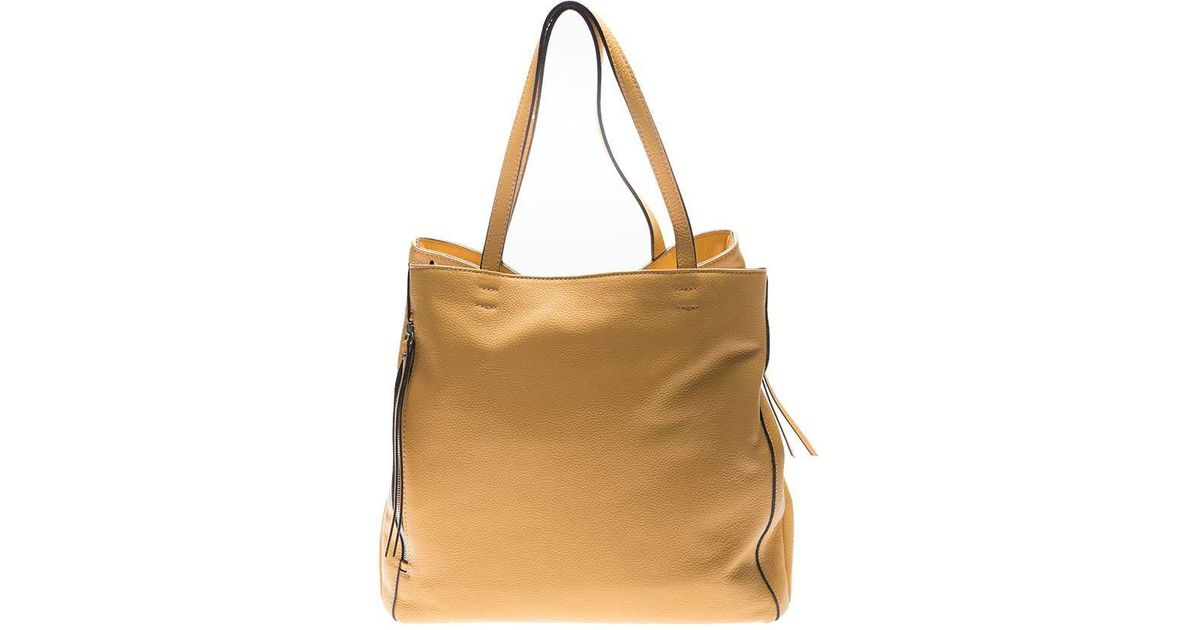 Mustard-colored shoulder bag Gianni Chiarini dXH5BF