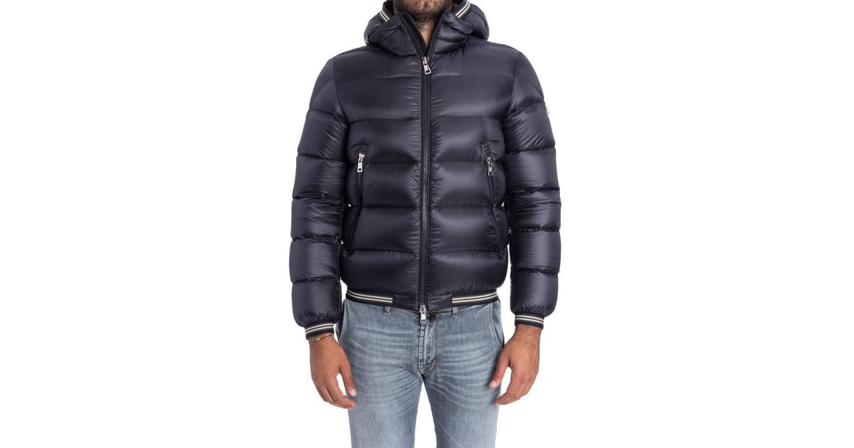 a1d1e0487 Moncler Jeanbart Down Jacket in Blue for Men - Lyst