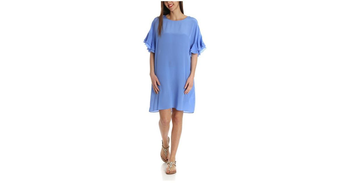 Light-blue Allyson dress Pinko 0UQg891j