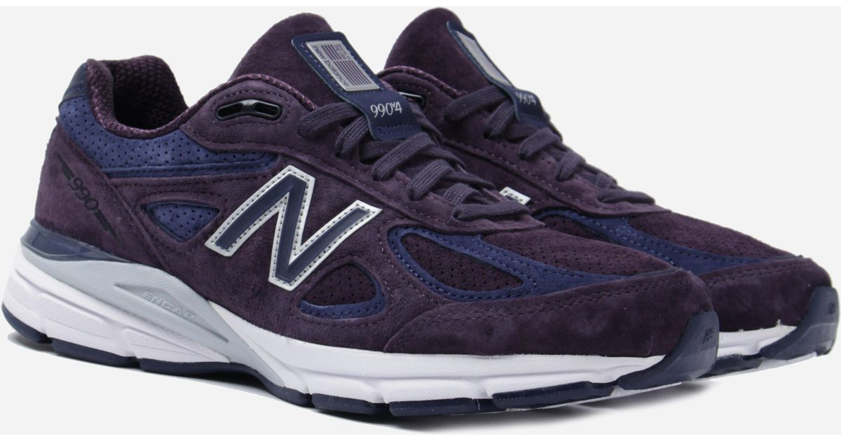 366e039446cf4 New Balance M990 Made In The Usa Purple Trainers in Purple for Men - Lyst