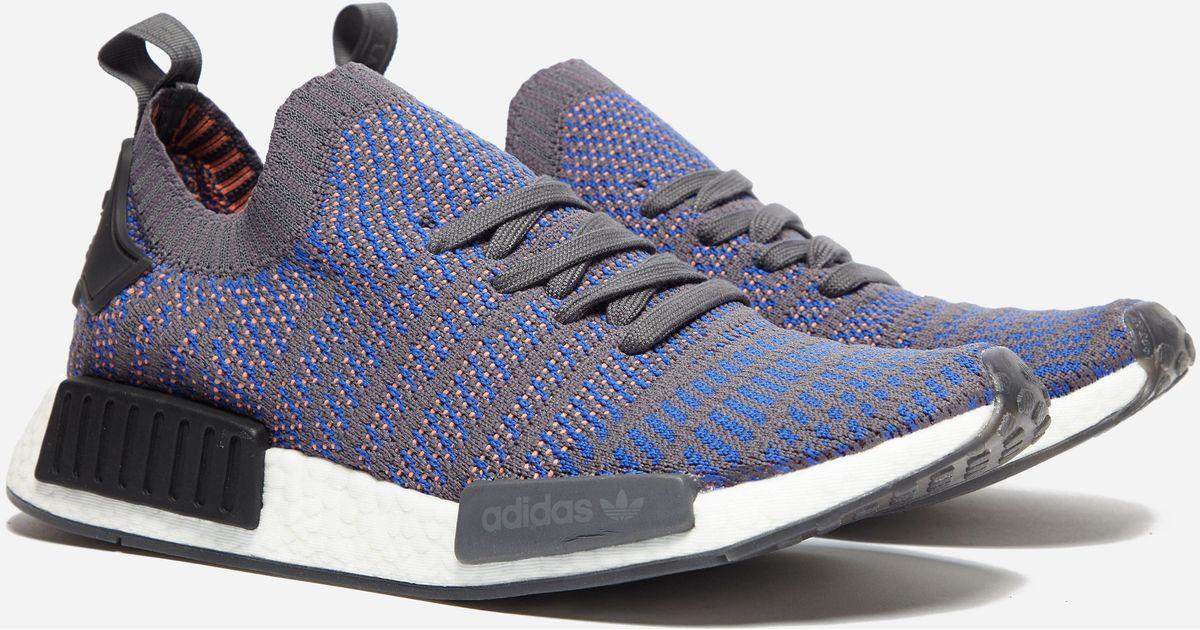 best cheap 7a724 8804d Adidas Originals Blue Nmd R1 Stlt Pk for men