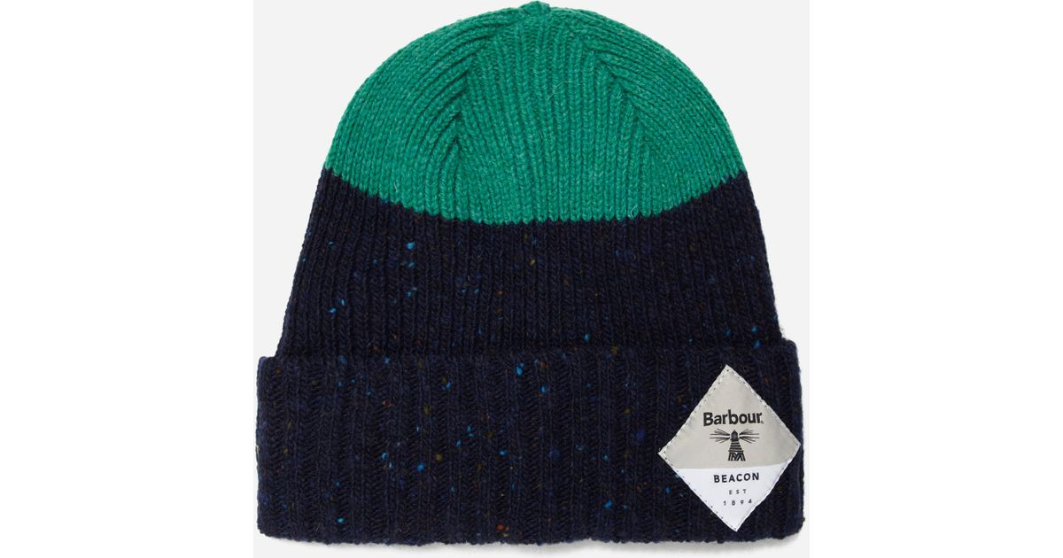 3a2231a8ffe Lyst - Barbour Babour Beacon Birkhouse Beanie in Blue for Men