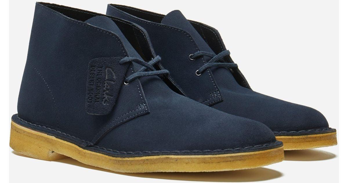 navy blue desert clarks Shop Clothing