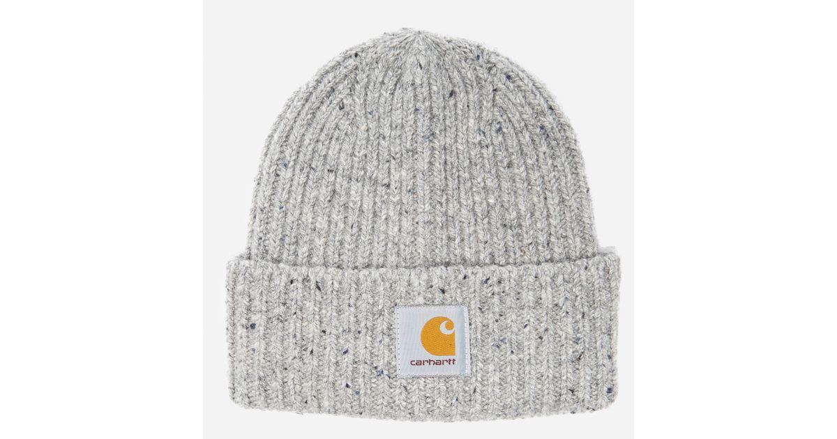 6b31c973 Lyst - Carhartt WIP Carhartt Anglistic Beanie in Gray for Men