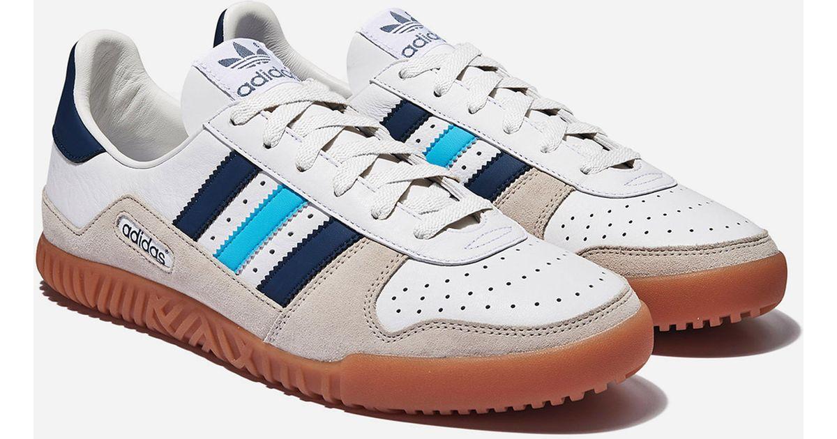 399a19735bf4 Lyst - Adidas Originals Indoor Comp Spzl in Blue for Men