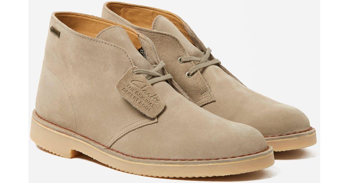 Clarks Desert Boot Gtx in Natural for