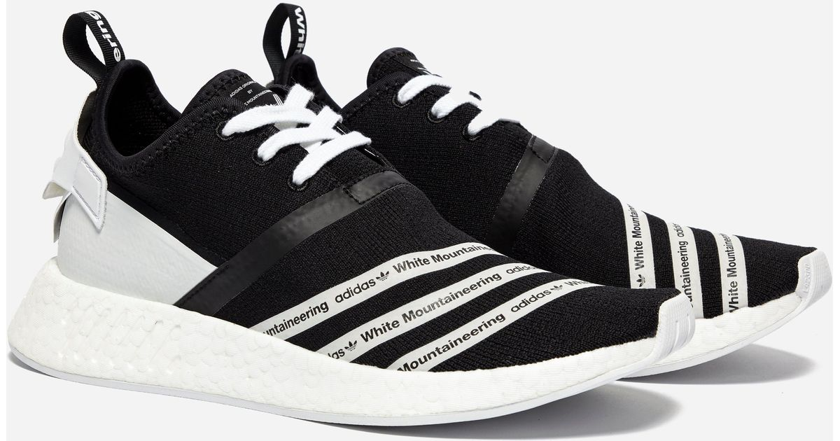 23b4c343f3bb Lyst - adidas Originals X White Mountaineering Nmd R2 Pk in Black for Men