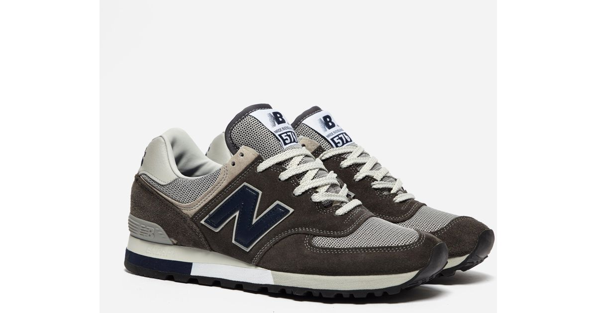 best sneakers 36589 5a7f6 New Balance Gray Om 576 Ogg for men