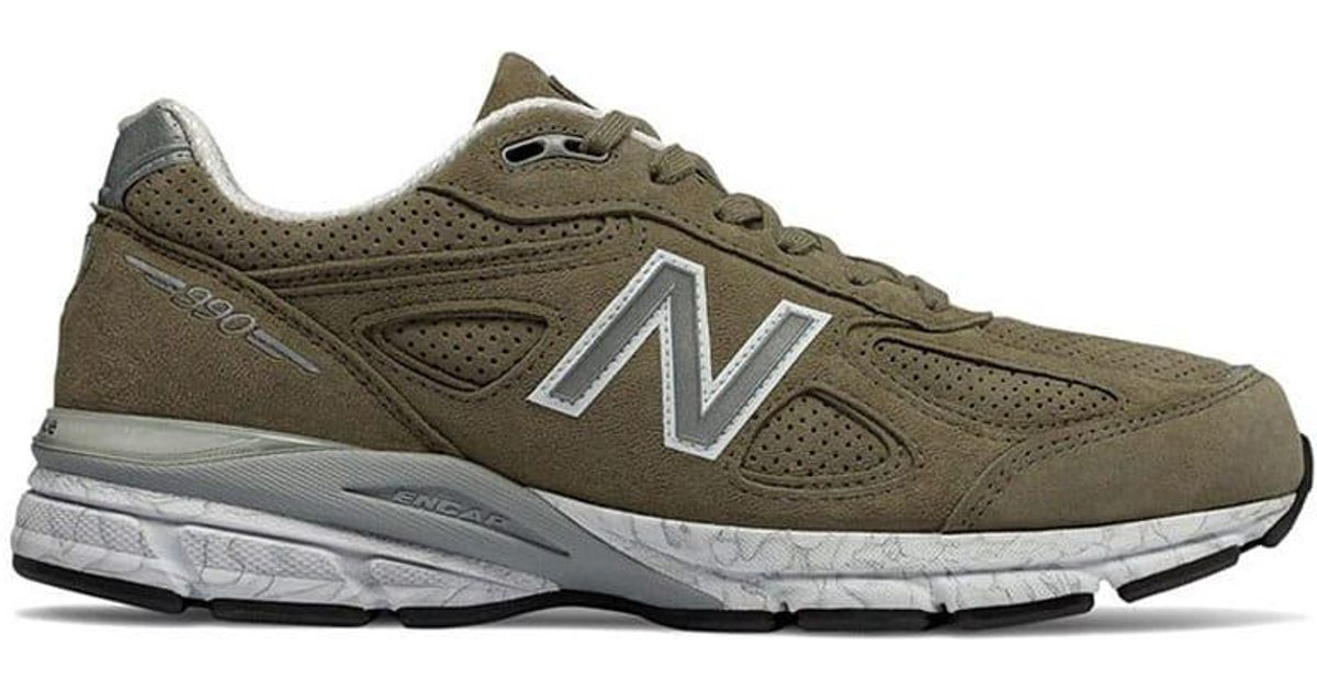 low priced c5b46 20bea New Balance Multicolor 990 Cg4 Khaki for men