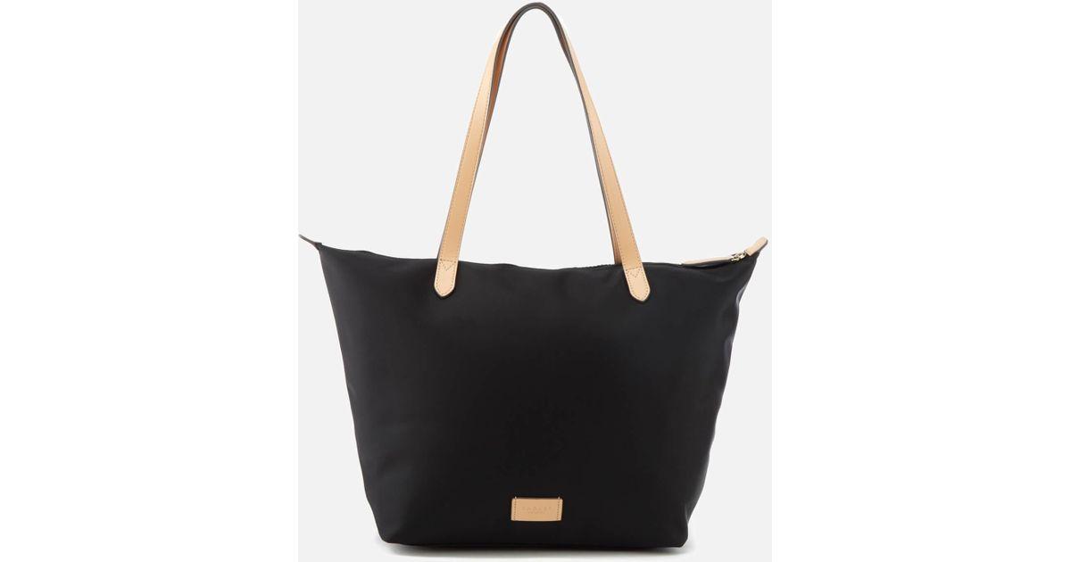 Large Zip Top Tote Bag