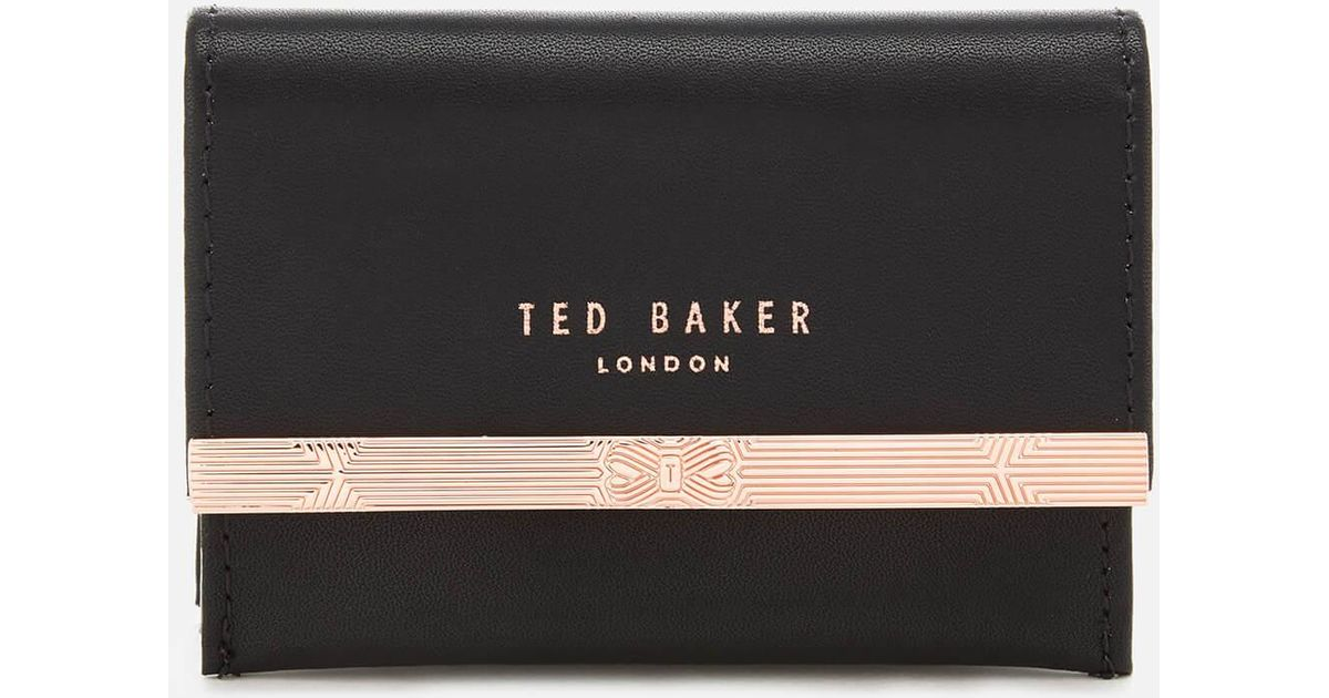 more photos 89325 da85f Ted Baker Black Concertina Credit Card Holder
