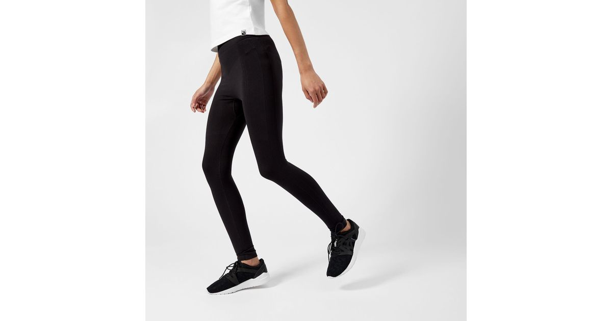 ostokset erityinen osa uusi korkealaatuinen PUMA Black Evoknit Leggings