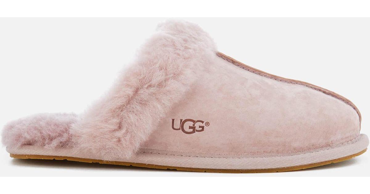 19bf78bda4c Ugg Pink Scuffette Ii Sheepskin Slippers