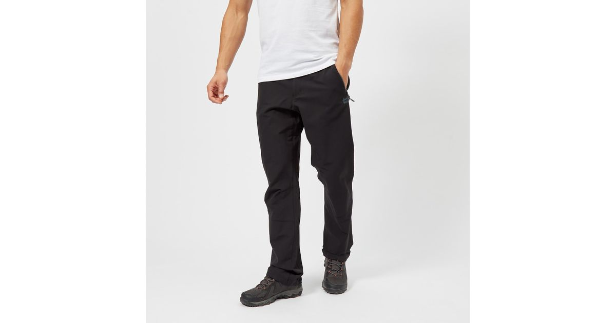 better retail prices low priced Jack Wolfskin - Black Activate Xt Trousers for Men - Lyst