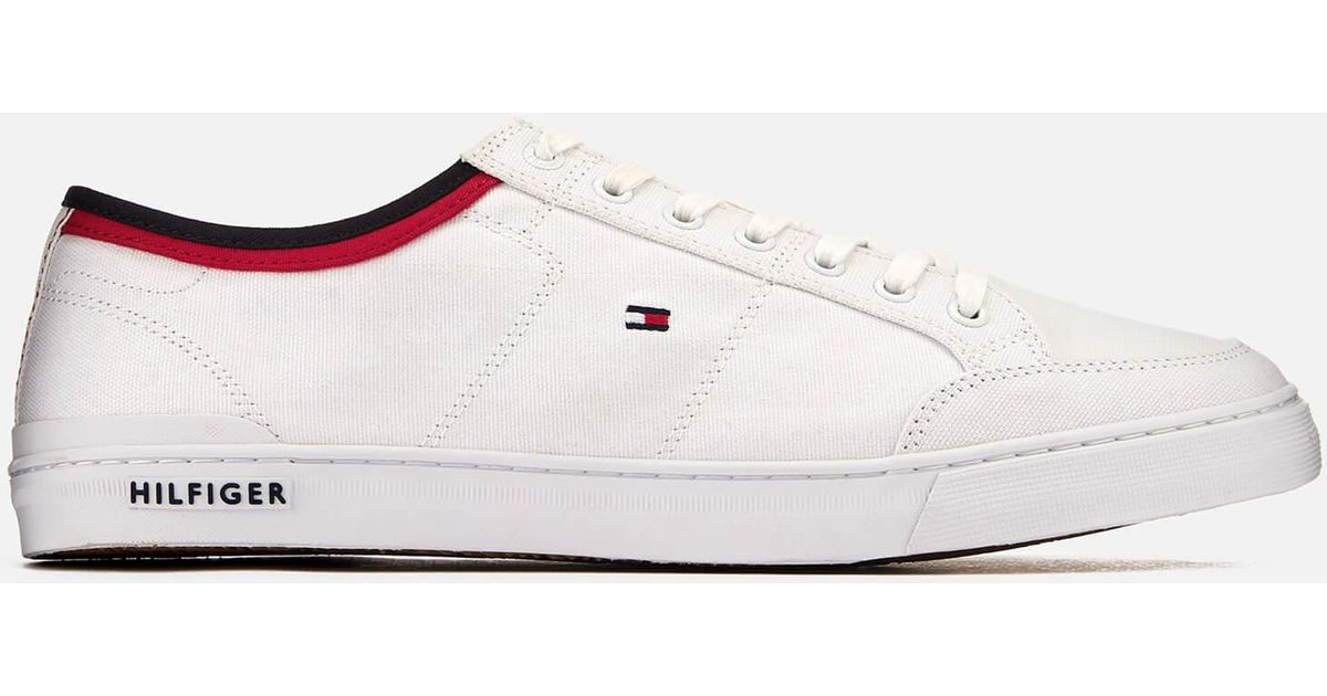 Tommy HilfigerCORPORATE DETAIL - Trainers - white YHpqlX